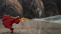 Tenzin airbending backward