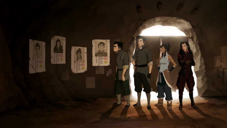 File:Team Avatar and their wanted posters.png
