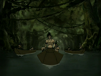Foggy Swamp Tribe's skiffs