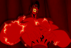 Jafar as a genie
