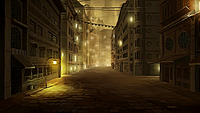 Republic City alley