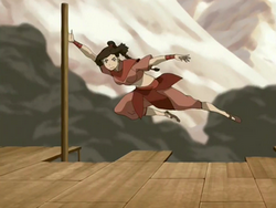 Ty Lee's agility