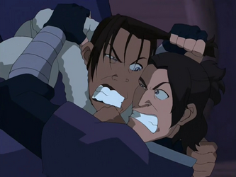 File:Sokka and Hahn fight.png