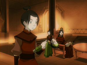 Young Azula with doll