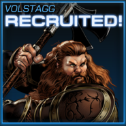 Volstagg Recruited