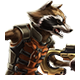 Rocket Raccoon Icon Large 2