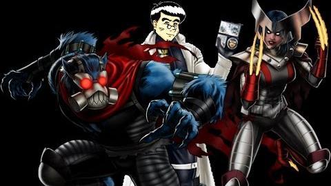PRE PVP JCJ 24 usando a Bestia y X-23 (Set Apocalypsis) Marvel Avengers Alliance
