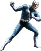 Quicksilver-Blue Costume