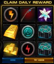Screenshot-Claim Daily Reward