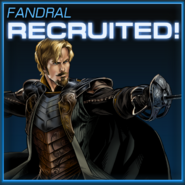 Fandral Recruited