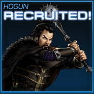 Hogun Recruited