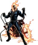 Ghost Rider Portrait Art