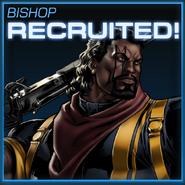 Bishop Recruited