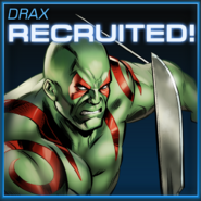 Drax Recruited