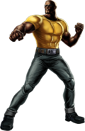 Luke Cage Right Portrait Art