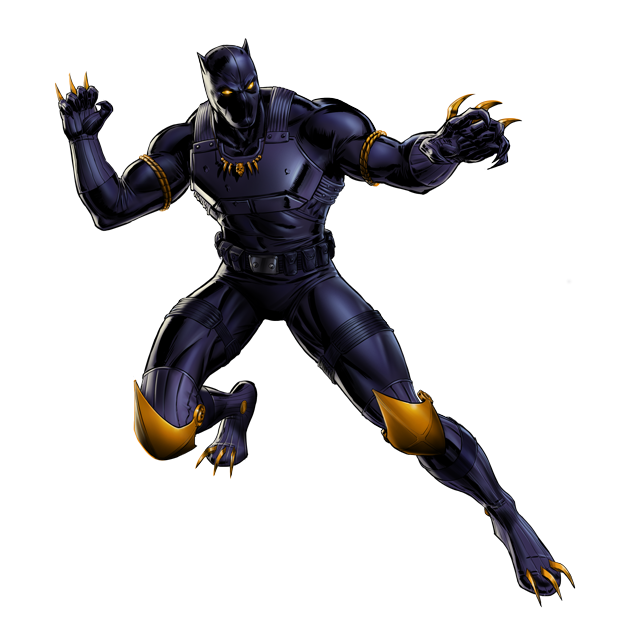 Image - Black Panther Urban Jungle Portrait Art.png ...