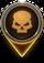 Medium Threat Map Icon