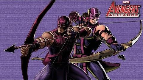 HAWKEYE's Moves Set Marvel Avengers Alliance Conjunto de Movimientos Ojo de Halcón Clinton F. Barton