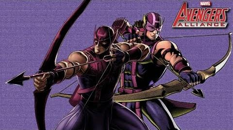 HAWKEYE's Moves Set Marvel Avengers Alliance Conjunto de Movimientos Ojo de Halcón Clinton F. Barton