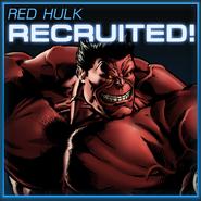 Red Hulk Recruited