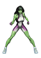 She-Hulk Marvel XP Old