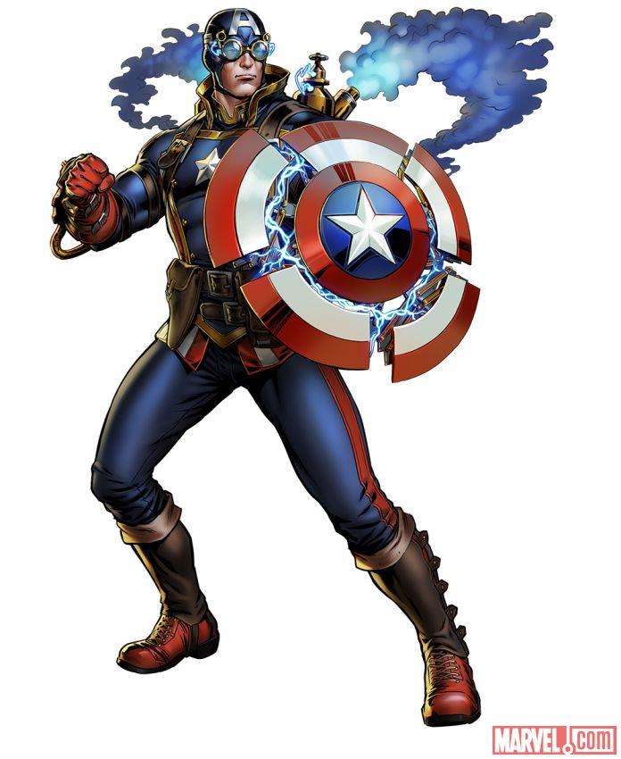 captain america 1901