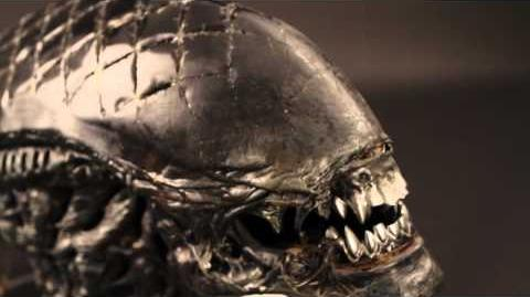 "Alien Warrior ""Grid"" SFX Head"