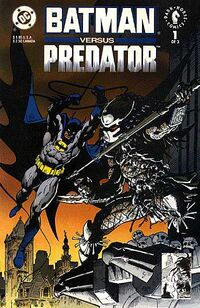 Batman versus Predator Vol 1 1A