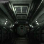 Ejectable flamethrower room corridor