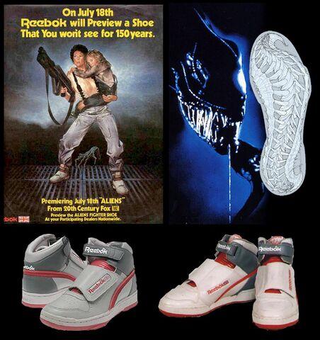 File:Reebok Alien fighter shoe Aliens 2.jpg
