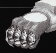 Power Punch glove concept art