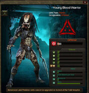 Young Blood Warrior clone 2