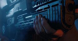 Ripley using grenade launcher