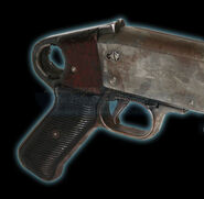 Hicks' Shotgun grip