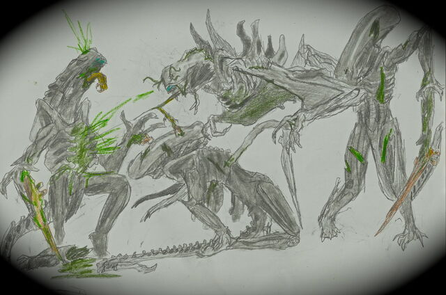 File:Xenomorph infector at work by dismemberednecromorf-d4h1p8o.jpg