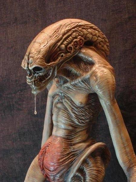 Alien VS Predator Requiem NECA Action Figure Alien Warrior