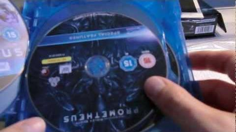 Prometheus to Alien The Evolution Box Set UK Blu-Ray Unboxing PART 2