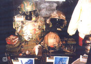 Marine gear in Alien War museum