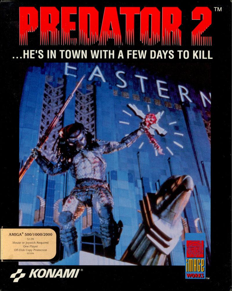 predator 2 1991 video game xenopedia fandom powered