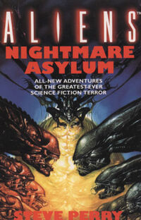 Nightmare Asylum UK Cover