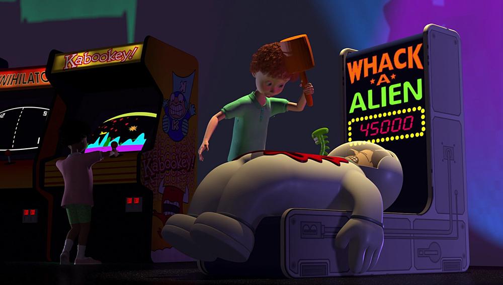 Chicken Little Alien Robot