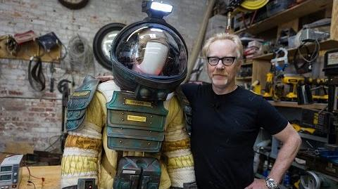 Adam Savage's Alien Spacesuit
