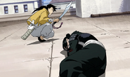 Ling Yao Prepares to Protect Lanfan From the Homunculi