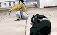 Ling Yao Prepares to Protect Lanfan From the Homunculi 2