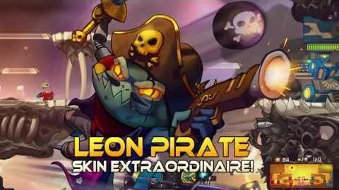 Awesomenauts - Leon Pirate Skin Showcase-0