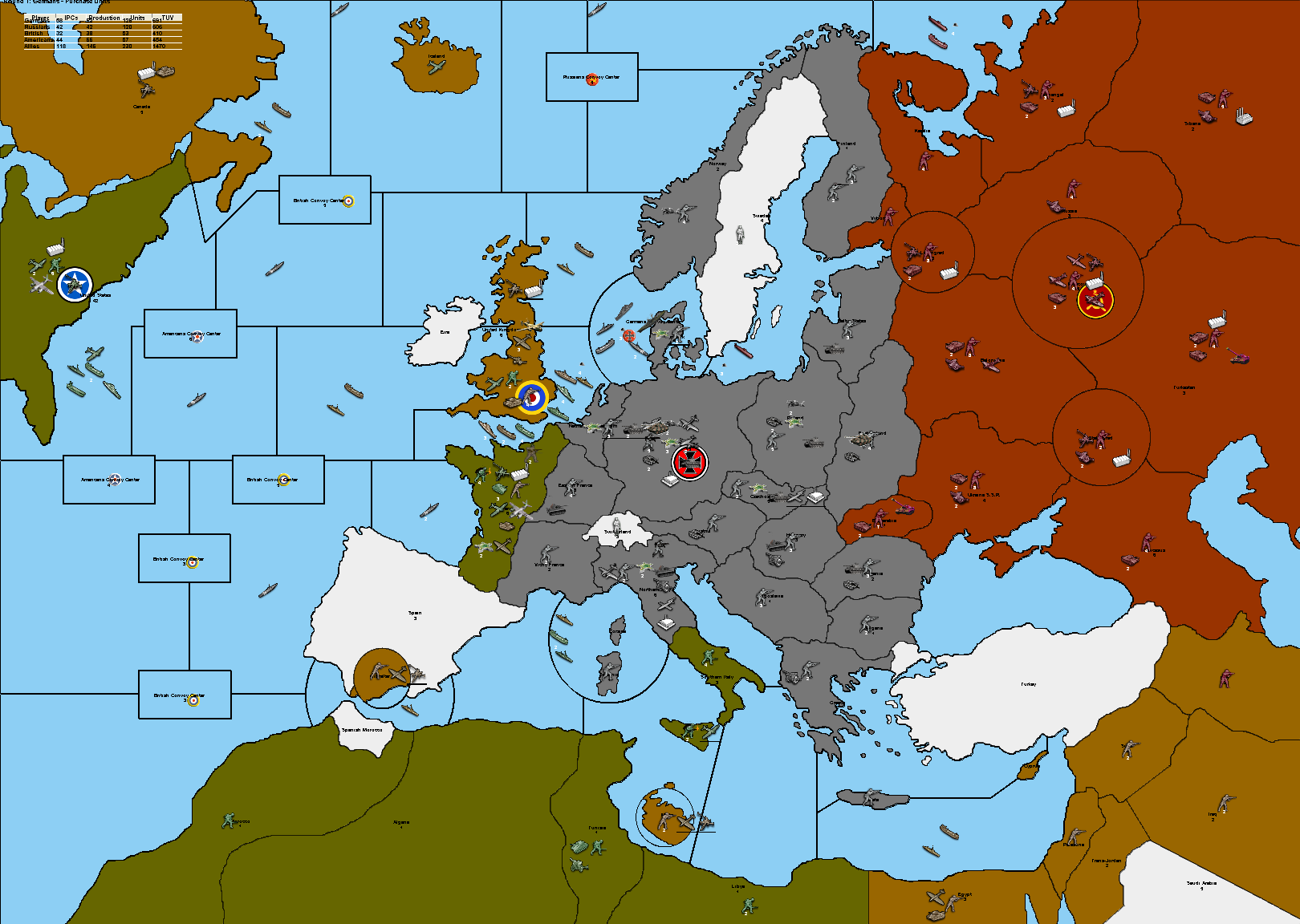 Category Axis Allies Wiki FANDOM Powered By Wikia - Europe map 1944