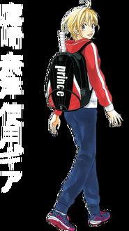 Prince natsu-back