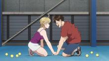 S1E04 Natsu giving Eiichiro courage