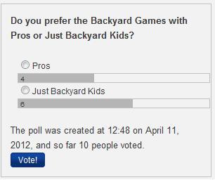 Poll again