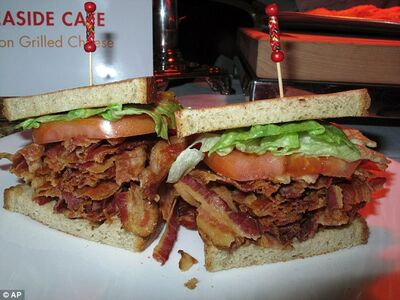 BLT-one pound of bacon
